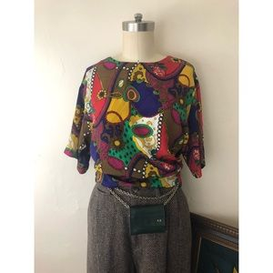 Notations-Chain Link-Vintage Blouse